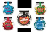 Dobsons Mega Lollies - Gift Jar of 10 Lollipops - 5 Varieties