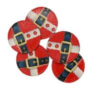 Christmas Santa's Belt Chocolate Coins 1kg