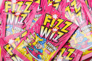 Fizz Wiz Popping Candy - Cherry, Retro sweets, cheap sweets, haribo, swizzel matlow, cadbury, sweet shop, boiled sweets, online sweet shop, uk sweet shop, a quarter of, quarter of, fudge sweets, toffee sweets, liquorice sweets, sweets and candy, mollys mixtures