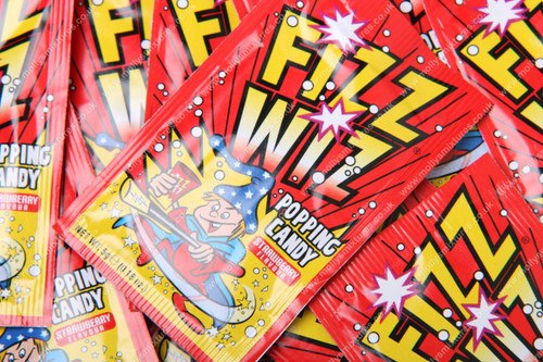 Fizz wiz popping candy - strawberry, Retro sweets, cheap sweets, haribo, swizzel matlow, cadbury, sweet shop, boiled sweets, online sweet shop, uk sweet shop, a quarter of, quarter of, fudge sweets, toffee sweets, liquorice sweets, sweets and candy, mollys mixtures