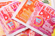 Love Heart Dips, Retro sweets, cheap sweets, haribo, swizzel matlow, cadbury, sweet shop, boiled sweets, online sweet shop, uk sweet shop, a quarter of, quarter of, fudge sweets, toffee sweets, liquorice sweets, sweets and candy, mollys mixtures