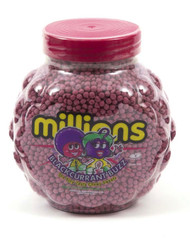 Millions - Blackcurrant, Retro sweets, cheap sweets, haribo, swizzel matlow, cadbury, sweet shop, boiled sweets, online sweet shop, uk sweet shop, a quarter of, quarter of, fudge sweets, toffee sweets, liquorice sweets, sweets and candy, mollys mixtures