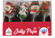 Hand Decorated Christmas Jelly Lollipops 23g x 24
