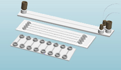 Microfluidic ChipShop Chips