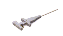 micro-clips for electrophoresis, dielectrophoresis, microfluidics and other high voltage applications