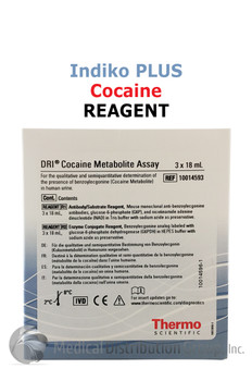 DRI Cocaine Reagent Indiko Plus 10014593 | Medical Distribution Group