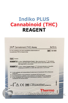 DRI Cannabinoid THC Reagent Indiko Plus 10014665 | Medical Distribution Group