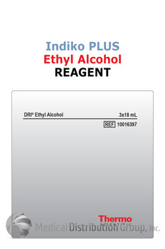 DRI Ethyl Alcohol Reagent Indiko Plus 10016397 | Medical Distribution Group