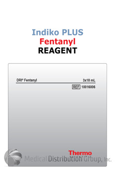 DRI Fentanyl Reagent Indiko Plus 10016006 | Medical Distribution Group