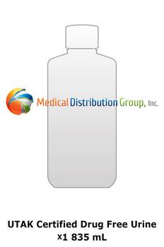 UTAK Certified Drug Free Urine - 835 mL