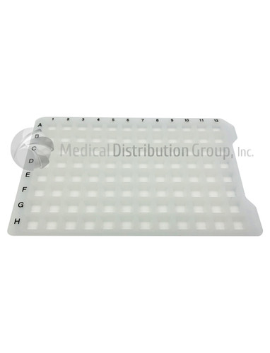 96 Sealing Mat for Deep Well Collection Plate, Square, 50 per case