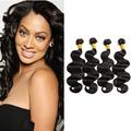 4 Bundles Body Wave Virgin Brazilian Hair