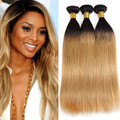 3 Bundles Ombre Straight Brazilian Hair