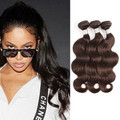 3 Bundles Pre-Colored Body Wave Brazilian Hair