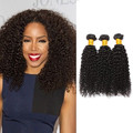 3 Bundles Kinky Curly Virgin Brazilian Hair
