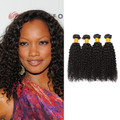 4 Bundles Kinky Curly Virgin Brazilian Hair