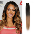 Ombre Straight Brazilian Hair