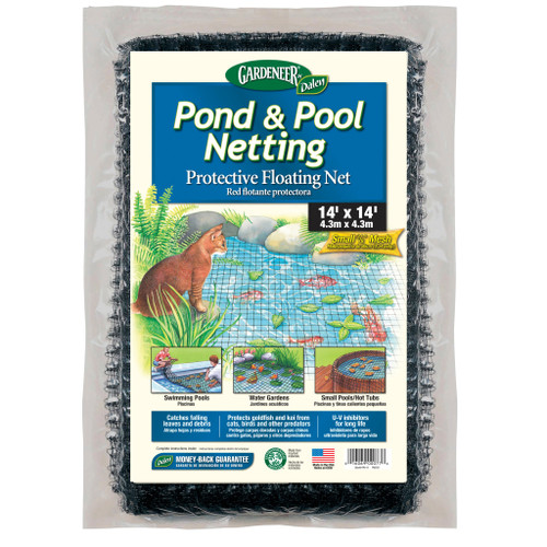 "DALPN14 14'x14' Pond Netting 3/8"" Mesh"