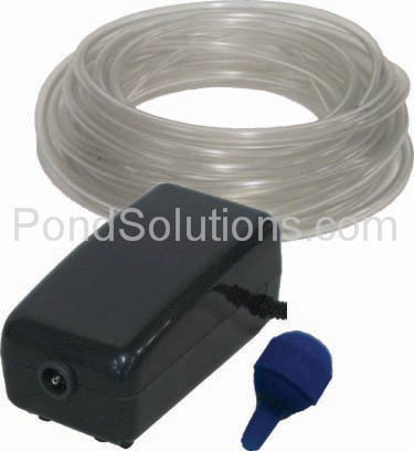 SCEPA1 Small Pond Aeration Kit For Ponds Up To 800 Gallons, Single Diffuser