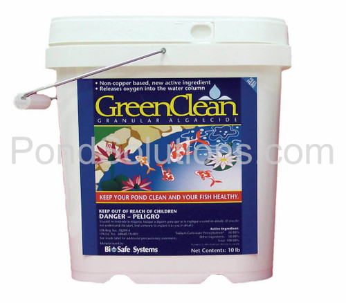 SCGC20 Green Clean Granular Pond Algaecide, 20 Lbs. - Treats 7 Acre Ft.
