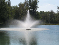 "1 HP Kasco Fountain W/5 Patterns, 115 Volts, 11 Amps, Operates In Water At Least 18"" Deep"