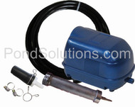 SCLA5N Small Pond Aeration Kit For Ponds Up To 3000 Gallons - Economy Linear Aeration Kits With Compressor SCEPW2