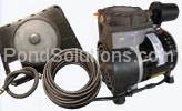 SCPA34 1/4 HP Rocking Piston Pond Aeration Systems 1 Single Diffusers Poly Tubing