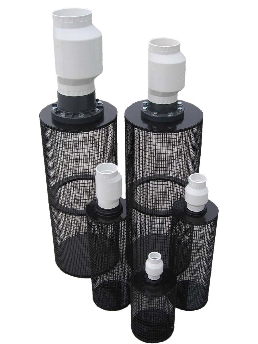 High Volume Centrifugal Pump - Non-Submersible Pump - Intake Filter 3