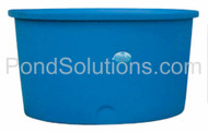 "SCPT4822 Round, Flat Bottom Tanks 22"" Deep x 48"" Diameter, 125 Gallons - Requires Shipping Via Motor Freight"