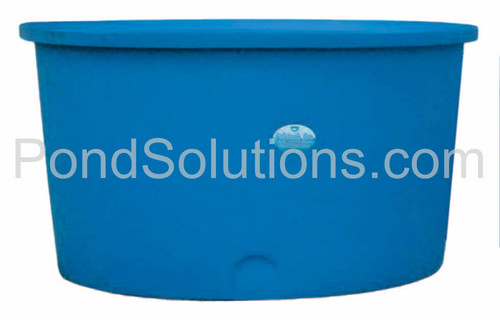 "SCPT9650 Round, Flat Bottom Tanks 50"" Deep x 96"" Diameter, 1200 Gallons - Requires Shipping Via Motor Freight"