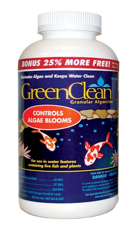 SCGC2 Green Clean Granular Pond Algaecide, 2 Lbs. - Treats 4000 Gallons