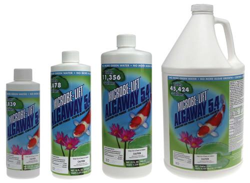 SCALG128 Algaway 5.4, 128 Ounce - Eliminates String Algae, EPA Registered