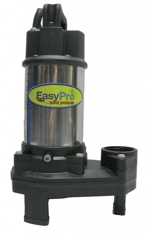 3100 GPH Submersible Pump, Stainless Steel, 1/4 HP, 115 or 230 Volts, 20' Power Cord