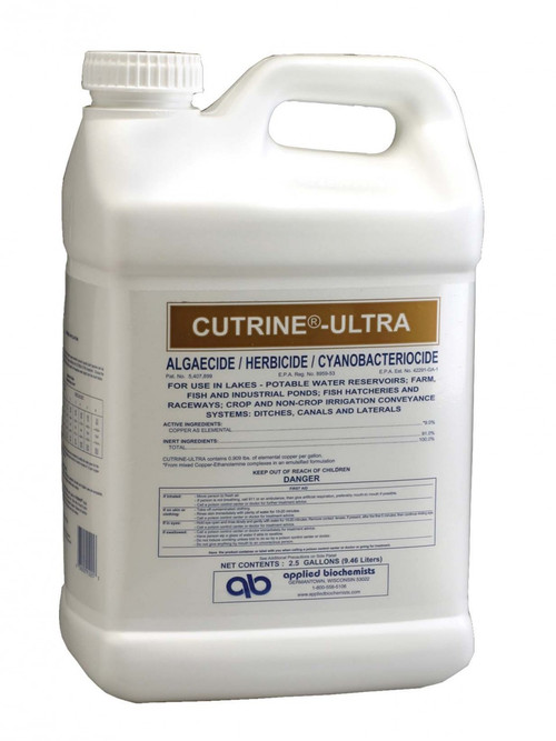 SCCPLU25 Cutrine Ultra, 2.5 Gallons - Requires Shipping Via Hazardous Material.