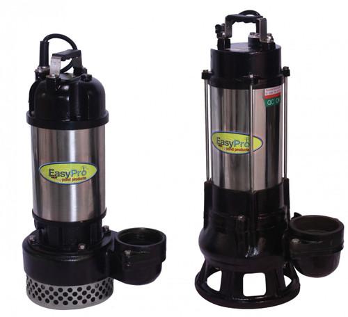 8000 GPH High Volume Submersible Waterfall Pump, 230 Volt, 1 HP, High Head Series, Max. 5.5 Amps