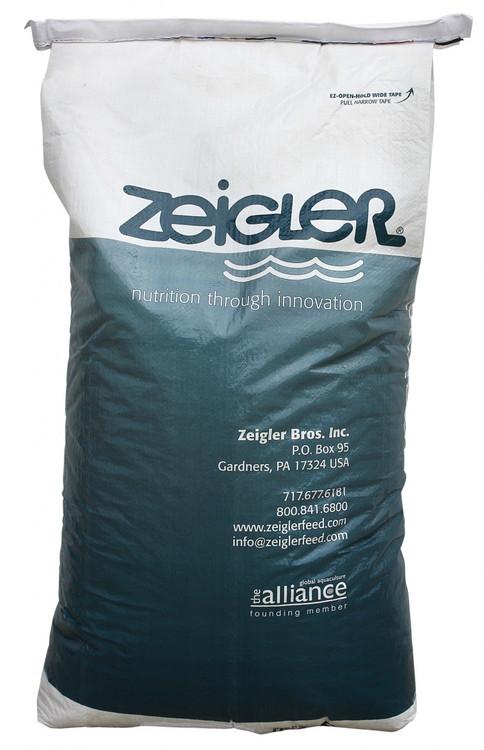 "SCFD18 Zeigler Game Fish Food, 44 Lbs. Bag, 1/8"" Pellet Size"