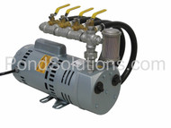 SCPA75WLD 3/4 HP Rotary Vane Aeration System - For Ponds Up To 4 Acres, 12' - 16' Deep, 2 acres 8 - 12' deep, or 1 acre 5 - 8' deep.