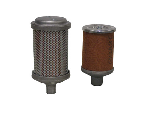 "Replacement Filter Element For Rotary Vane Compressor, 3/8""MPT For SCRV75 and SCRV100 Compressor"