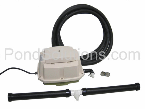 SCLA15W Medium Pond Aeration Kit For Ponds Up To 20,000 Gallons - Deluxe Linear Aeration Kits With Compressor SCML80