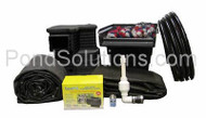 SCEPK1520 Pond Kit System For 15' x 20' Pond - Eco-Series  - With Symphony Filter and Ovation Skimmer - Requires Shipping Via Motor Freight