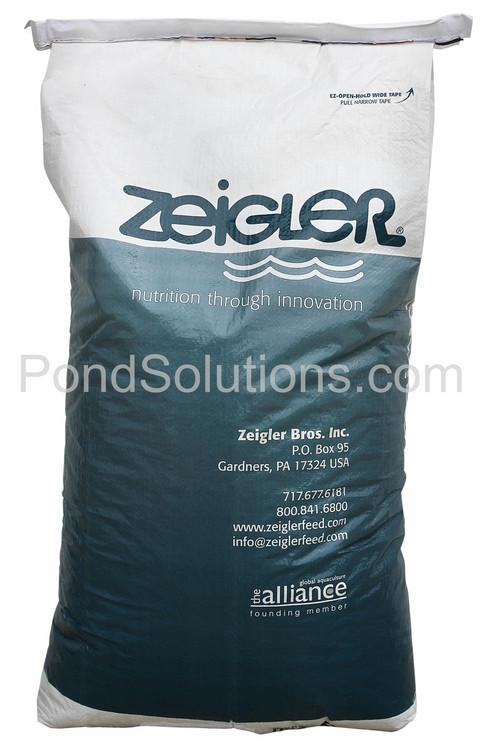 "SCFD316 Zeigler Game Fish Food, 44 Lbs. Bag,  3/16"" Pellet Size"