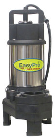 3100 GPH Submersible Pump, Stainless Steel, 1/4 HP, 115 Volts, 50' Power Cord.