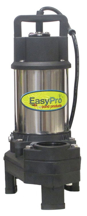 4080 GPH Submersible Pump, Stainless Steel, 20' Power Cord, 1/3HP, 230 Volts
