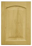 Raised Panel with Arch Door - Oak