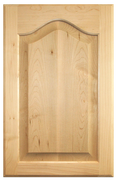 Raised Panel with Cathedral Door - Paint Grade Maple