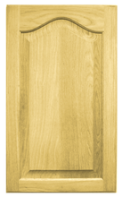 Raised Panel with Cathedral Door - Oak