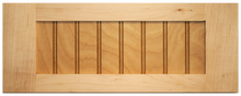 Maple Shaker Beaded Drawer Front