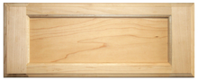 5-Piece Maple Flat Drawer Front