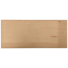 Solid Slab Drawer Front - Cherry