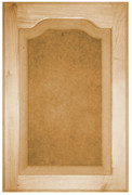 Raised Panel with Flat Arch Door - Oak